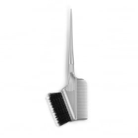 Dye Brush Soft/Hard With Comb 60mm