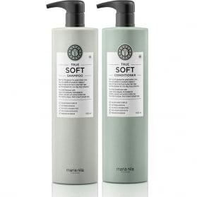 Maria Nila True Soft Shampoo + Conditioner 1000ml