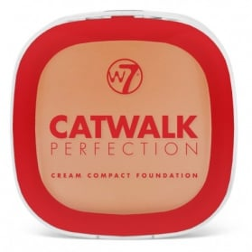 W7 Catwalk Perfection Cream Compact Foundation 6g - Beige