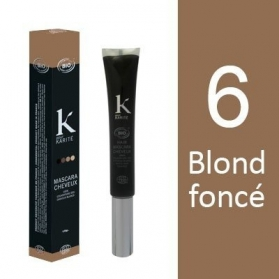 K Pour Karité Organic Hair Mascara - 6 Dark Blond