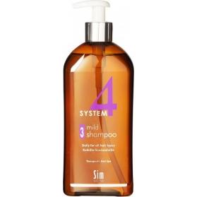 System 4 Climbazole Shampoo 3 500ml