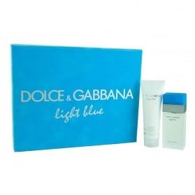 Dolce & Gabbana Light Blue Perfume for Women edt 25ml + Body Cream 50ml
