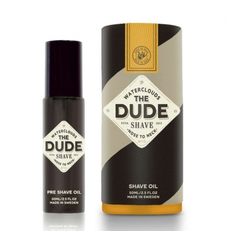Waterclouds The Dude Shave Shave Oil 50ml
