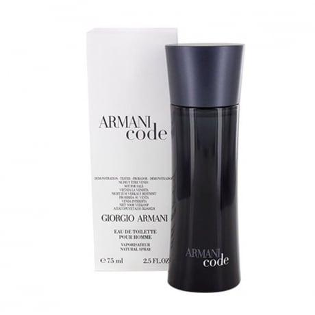 Giorgio Armani Code Pour Homme edt 75ml (tester unboxed)
