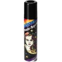 Color hair spray black