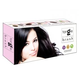 Tanglefree Straightener Brush - Pink