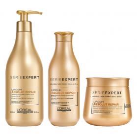 L'Oréal Professionnel Serie Expert Absolut Repair-paket x3