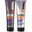 Fudge Clean Blonde Violet Toning Shampoo+Conditioner 300ml