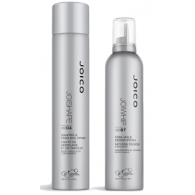 Joico Joishape Shaping & Finishing Spray + JoiWhip Firm Hold Designing Foam