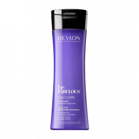 Revlon Be Fabulous Fine Hair Cream Light Shampoo 250ml