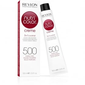 Revlon Professional Nutri Color Creme 500 Purple Red Tube 100ml