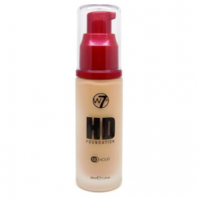 W7 HD Foundation Sand Beige