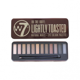 W7 - In The Buff Lightly Toasted Eye Palette - 12 Shades