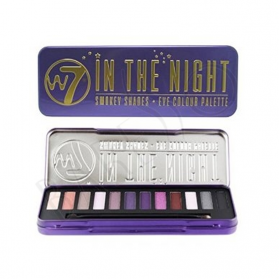 W7 - In The Night Eye Palette - 12 Shades
