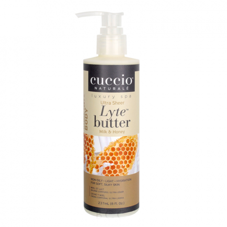 Cuccio Naturalé Lyte Butter Ultra Sheer - Milk & Honey