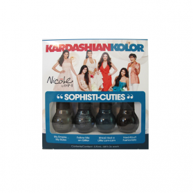 Kardashian Kolor Sophisti-cuties 4-piece Nail Polish Set