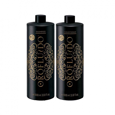 Orofluido XXL Shampoo & Conditioner 1000ml inkl pumpar