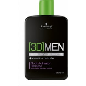 Schwarzkopf 3D Men Root Activat Shamp 250ml