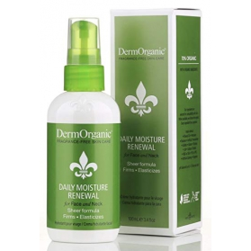 DermOrganic Daily Moisture Renewal for Face and Neck 100ml