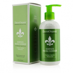 Dermorganic Soapless Facial Cleanser 250ml