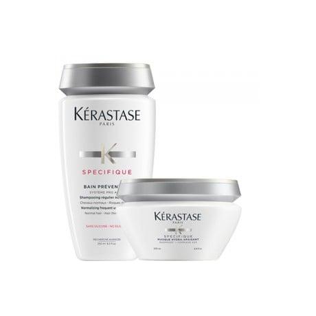 Kerastase Specifique Duo Bain Prevention + Masque Hydra Apaisant