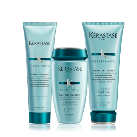 Kerastase- Architecte Trio Bain + Ciment + Anti Usure