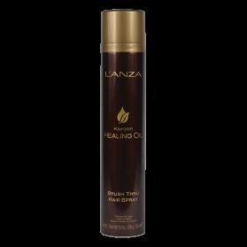 L'anza Keratin Healing Oil Brush Thru Hair Spray 350 ml