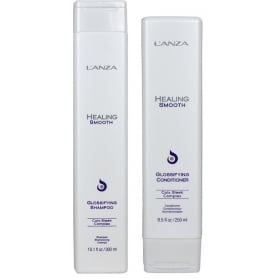 Lánza Healing Smooth Glossifying Shampoo + Conditioner