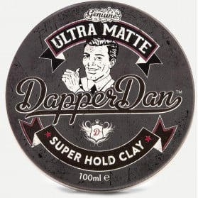 Dapper Dan Ultra Matte Clay Super Hold 100ml