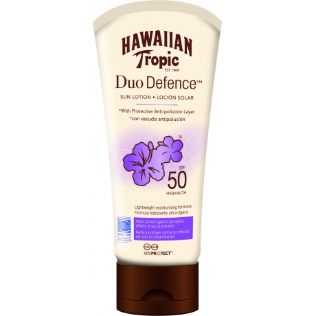 Hawaiian DueDefence Sun Lotion SPF 50 180ml