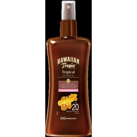 Hawaiian Protective Dry Spray Oil SPF 20 Coconut & Guava 200ml
