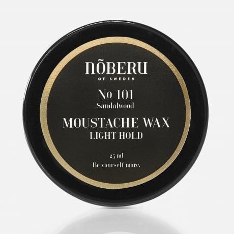 Nõberu Moustache Wax Light Hold Sandalwood 25 ml