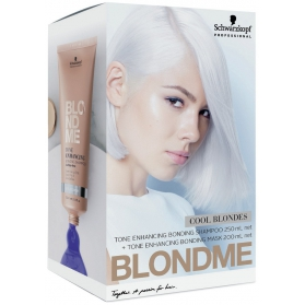 Schwarzkopf BlondMe Cool Blondes Duo Pack 200ml