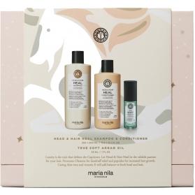 Maria Nila Holiday Box - Head & Hair Heal (UNBOXED)