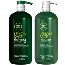 Paul Mitchell Lemon Sage Thickening DUO Kit 1000ml