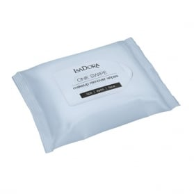 IsaDora One Swipe Makeup Remover Wipes - Lips/Eyes/Face