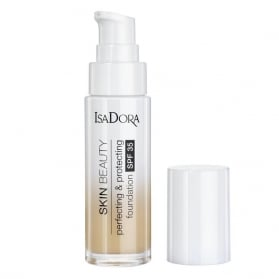 IsaDora Skin Beauty Perfecting & Protecting Foundation SPF 35 05 Light Honey