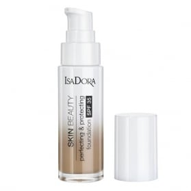 IsaDora Skin Beauty Perfecting & Protecting Foundation SPF 35 09 Almond