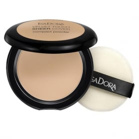 IsaDora Velvet Touch Sheer Cover Compact Powder 44 Warm Sand
