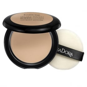 IsaDora Velvet Touch Sheer Cover Compact Powder 45 Neutral Beige
