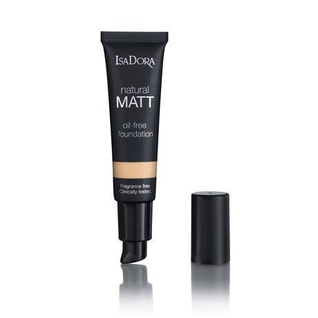 IsaDora Natural Matt Oil-Free Foundation 12 Matt Sand