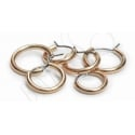 Blomdahl Golden Titanium Patents Pending Hoop
