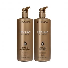 Lanza Bright Blonde Duo Shampoo & Conditioner 950 ml