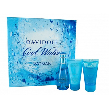 Davidoff Coolwater Femme Edt Gift Box