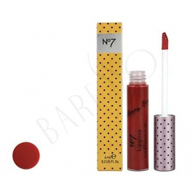Boots No7 Poppy King Lipgloss Intrigue