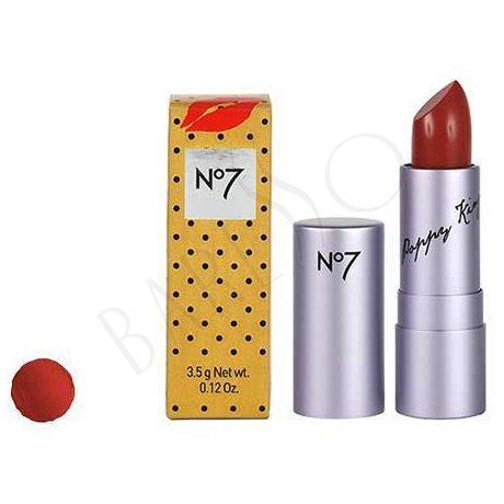 Boots No7 Poppy King Lipstick Intrigue