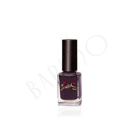 Scratch Nail Care & Color Jewellry Box Black Purple