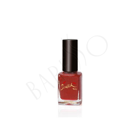 Scratch Nail Care & Color Jewellry Box Red Gold