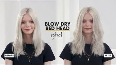 How To Create The Blow Dry Bed Head Look | ghd Hai