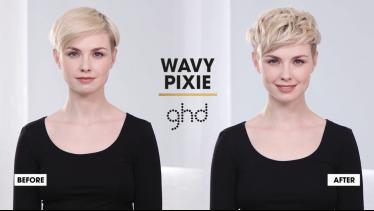 How To Style A Wavy Pixie | ghd Hairstyle How-To